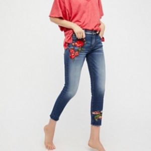 DRIFTWOOD | Jackie Embroidered Skinny Jeans I271